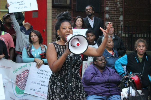 Gowanus Houses residents, including Imani Gayle Gillison, demand the city permanently re-open their community center after it was shuttered more than a decade ago.