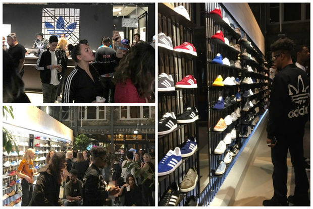 An Adidas Originals store has opened at 1532 N. Milwaukee Ave.