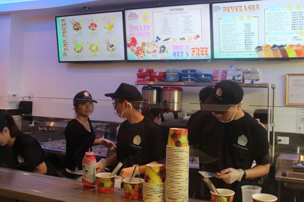 The shop at 1130 W. Argyle St. offers gelato, bubble tea and rolled ice cream.
