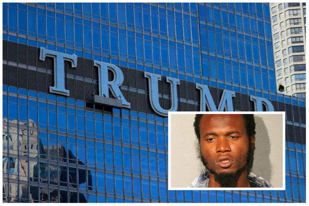 Holdson Marcelin, 36, of Philadelphia faces a felony charge after causing more than $10,000 worth of damage inside the Sixteen restaurant inside Trump Tower.