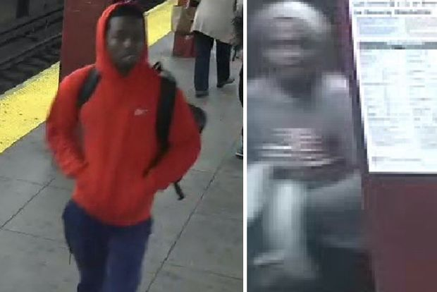 Police are asking for help finding two people who they say attacked a 65-year-old man aboard a Midtown subway.
