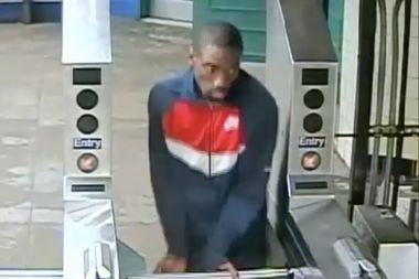 Police need help finding this man who they say slashed a subway rider across the face.