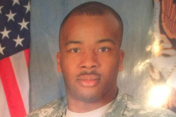 Marcus Brown, 33, was awarded a won a Bronze Star for his service in Iraq, family members said.
