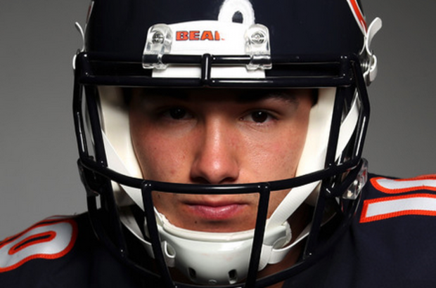 Bears rookie QB Mitchell Trubisky