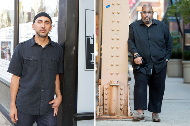 Rami Nashashibi, executive director of Chicago Lawn-based Inner City Muslim Action Network (from left) and photographer Dawoud Bey, who is also a Columbia College Chicago professor, both won a $625,000