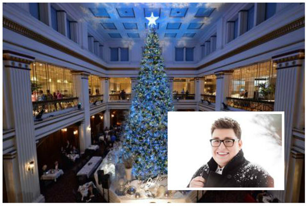 macy s walnut room tree lighting will be next month with jordan