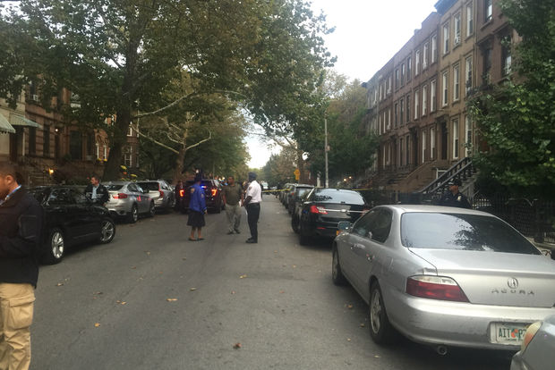 Waldiman Thompson died and his 100-year-old wife was hospitalized during a home invasion in Bed-Stuy, police said.