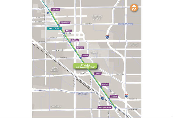 Milwaukee Avenue Express Bus Will Be 1st Piece Of Rapid
