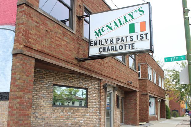McNally's in Morgan Park has a long history of poking fun at the Chicago Cubs on its marquee. However, the South Side bar was surprisingly quiet as the ballclub faced a do-or-die situation Thursday night.