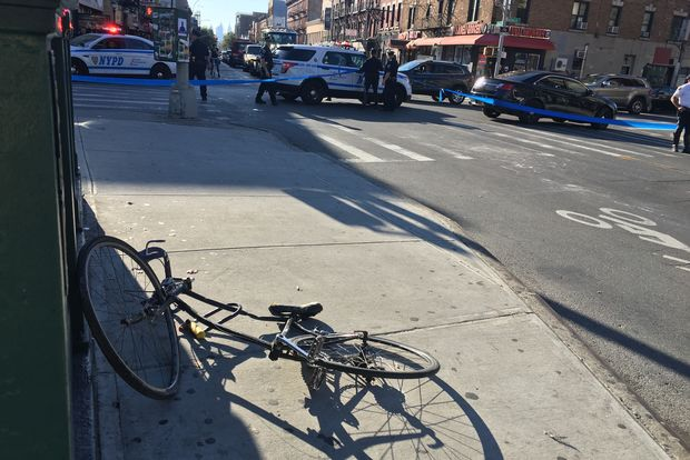Police wrote a slew of tickets to off-route trucks after a cyclist was run over by one.