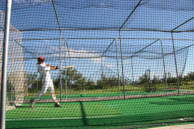 The batting cage, coming to Division Street and Kedzie Avenue, will offer mechanical pitching machines with five hitting stations — open to baseball and softball leagues as well as the general public, according to the mayor's office.