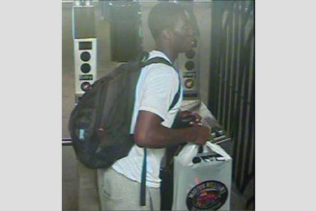 Police are looking for a man who they say paid for a pair of Jordan sneakers with fake money.