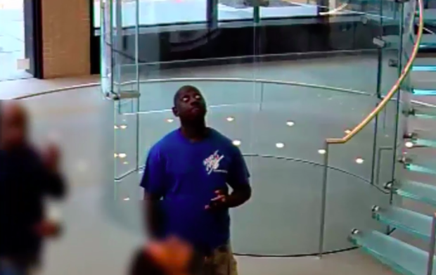 Police need help finding this man who they said stole $58,000 worth of iPhones from an Apple store.