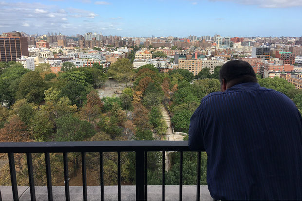 Residents of a Fifth Avenue high-rise overlooking Marcus Garvey Park where condos sell for more than $1 million often see people having sex in the park.