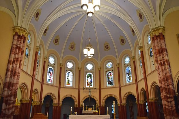 St. Henry, known today as Blessed Alojzije Stepinac Croatian Catholic Mission, in West Ridge, is one of the area's oldest churches.