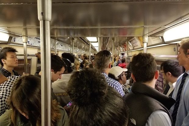 Signal problems at Rockefeller Center caused a series of service changes along city subway lines Monday morning.