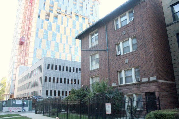 A 53-unit building next to Solstice on the Park will be converted to affordable units to keep a promise the developer made to community groups in Hyde Park.