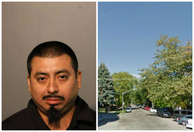 Latin King gang member Carlos Duarte, 33, is charged with killing his father.