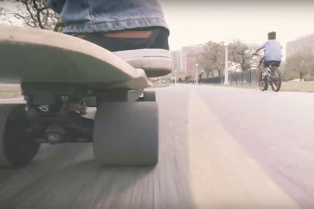 The Raptor 2 Direct Drive Electric Skateboard retails for about $1,500.