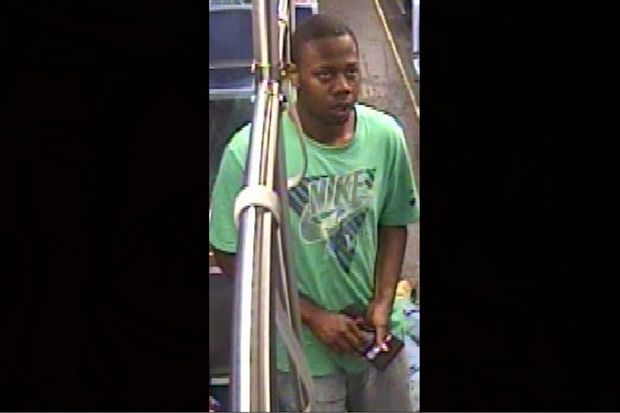 Police say this man beat and robbed a 70-year-old man in August while on the Red Line.