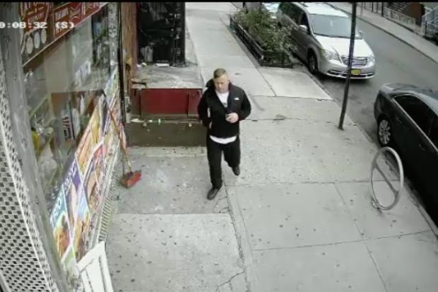 Police need help finding this man who they said raped a 24-year-old woman in Bushwick over the weekend.