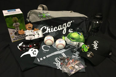 The White Sox sent this memorabilia to a young baseball fan who lost his home, and memorabilia collection, in the California wildfires.