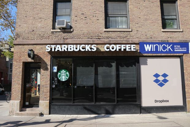 The Starbucks at 177 Eighth Avenue, at the corner of West 19th Street.