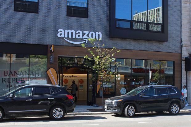 Amazon has opened a location for pickups and returns at 2728 N. Clark St.