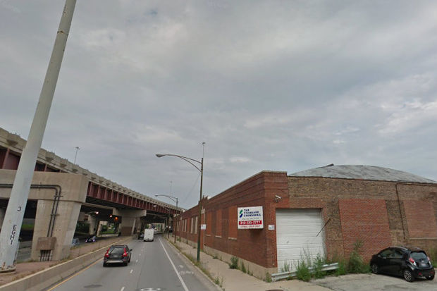 A cellphone tower is proposed for the northwest corner of Archer Avenue and Mary Street, pictured.