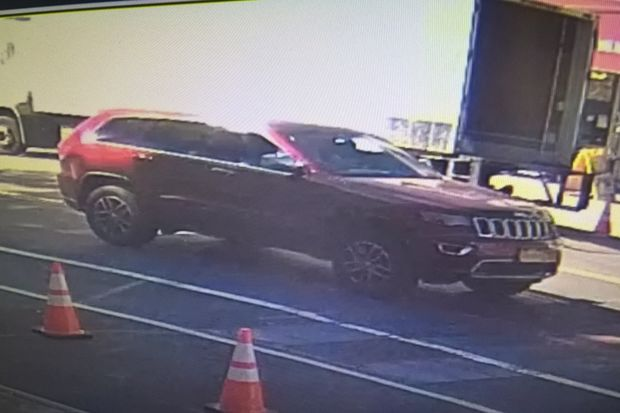 Dennis Gandarilla, 49, was dragged several blocks to his death by this SUV in The Bronx, police said.