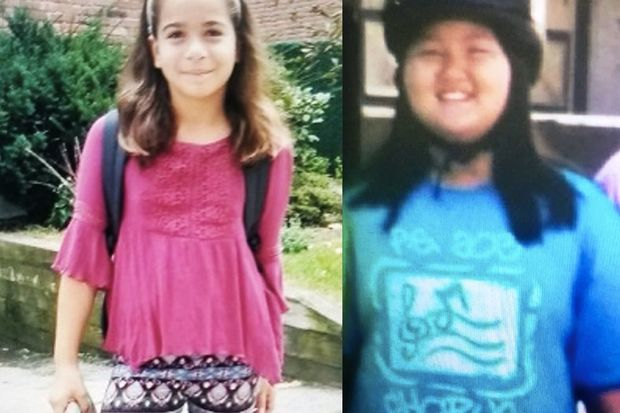 The girls went missing on Wednesday afternoon, authorities said.