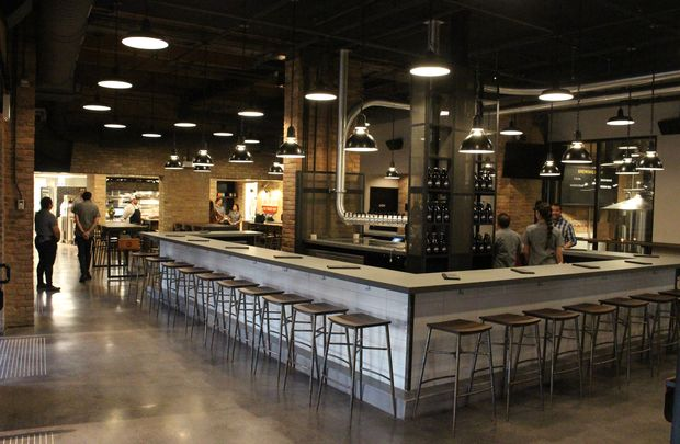 The Goose Island Brewhouse finds the original flagship brewpub substantially renovated.
