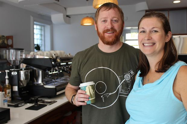 B-Sides Coffee + Tea will open Friday at 9907 S. Walden Parkway in Beverly. Owners Kevin and Karen O'Malley expect to cater to morning commuters using the 99th Street Metra depot.