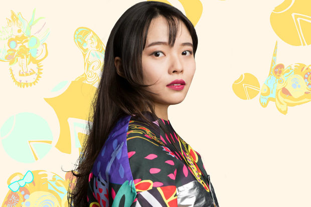 Chicago-based designer Shaly Guo, who recently graduated from SAIC with a master's in fashion design, is taking part in Chicago Fashion Week.