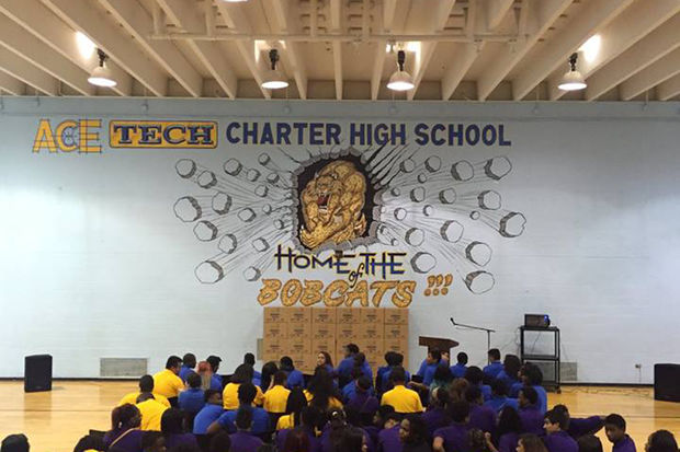 Ace Technical Charter High School is eligible for closure after being put on a CPS warning list for a second year in a row.