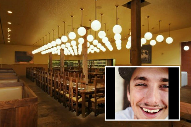 Cosmo Goss, executive chef at The Publican, was fired this week.