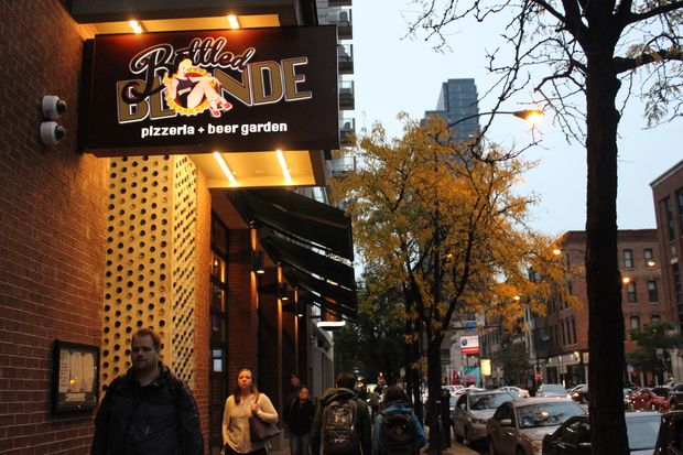 Bottled Blonde has been a polarizing presence in River North since it opened two years ago at 504 N. Wells St.