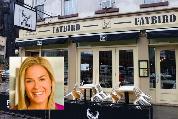Celeb chef Cat Cora's restaurant Fatbird, at 44 Ninth Ave.