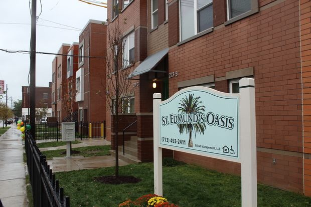 St. Edmund's Oasis is the latests development in Washington Park as clergy continue to drive the development market in the neighborhood.