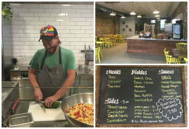 The new lunch spot, 3703 W. Fullerton Ave., is set to open Tuesday after months of renovation, according to husband-and-wife owners Lindsay Malinowski and Bradley Treusdell (pictured left).