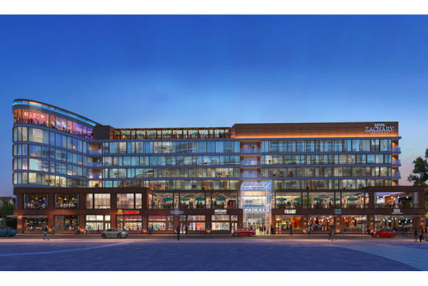 A Rendering Of Hotel Zachary Shows The View From Wrigley Field