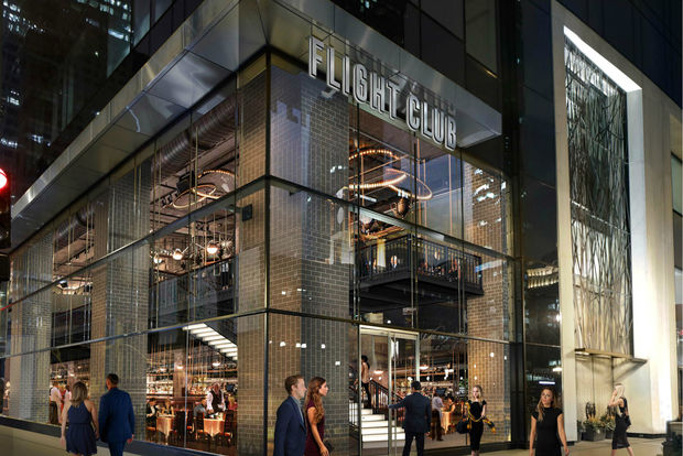 Flight Club, a darts bar, will open next year at 111 W. Wacker Drive.