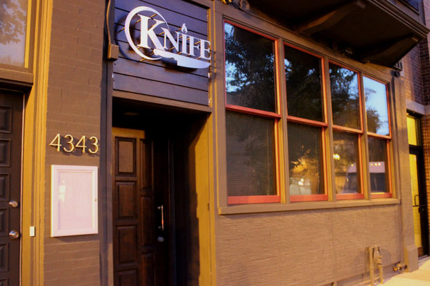 Knife, 4343 N. Lincoln Ave., billed itself as a