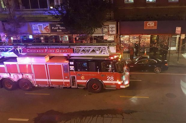 Fire In Former American Apparel Store Closed Milwaukee Ave