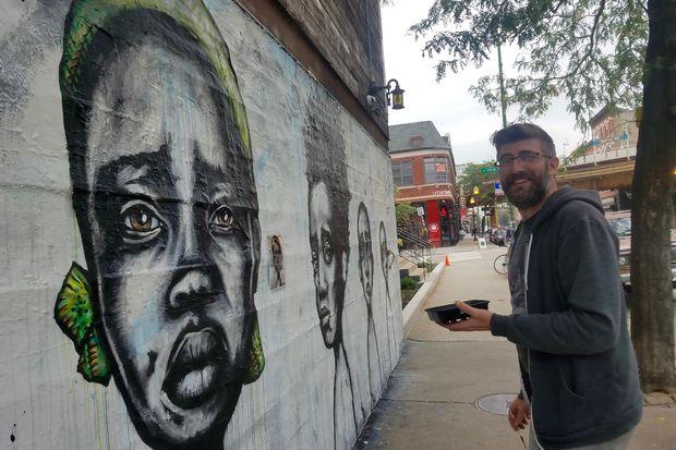 Mural by Daniel Wilson.