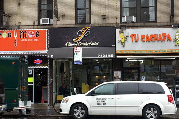 Police and the City of New York say this beauty salon ran an illegal gambling operation from their basement. The city wants the shut the salon down.