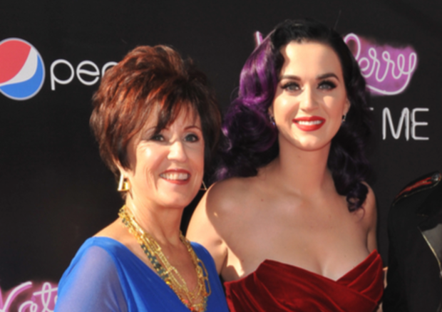 Katy Perry is seen with her mother Mary in this file photo.