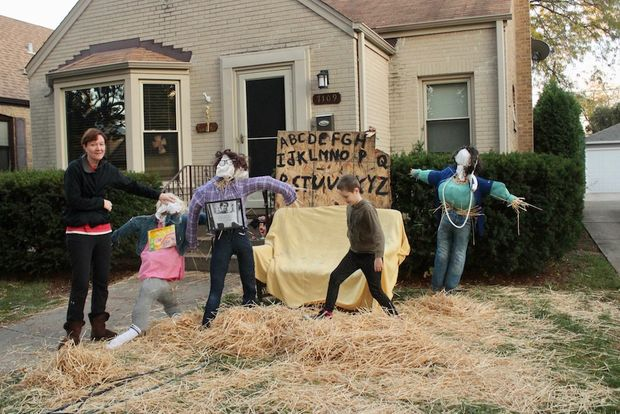 Dozens of families entered their houses into the running for this year's contest.