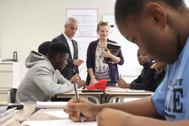 CPS is pushing for more students to sign up for AP courses in high school.