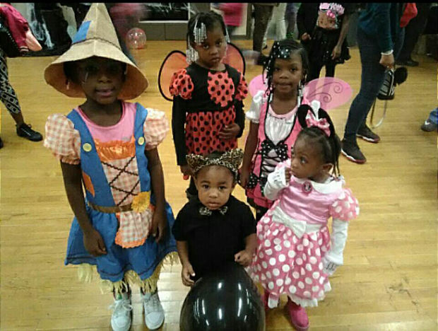 The organization LaTanya & The Youth of Englewood hosts a Halloween event every year.